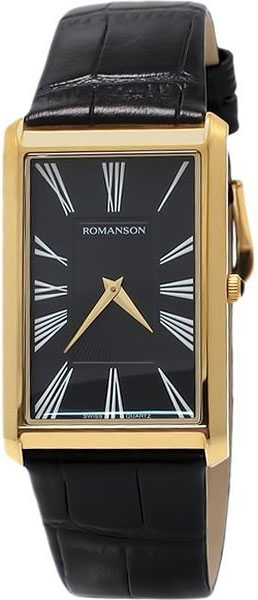 Мужские часы Romanson TL0390MG(BK) romanson часы romanson tl0110slw bk коллекция adel