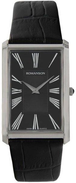 Мужские часы Romanson TL0390MW(BK) romanson tm 0390 mr bk