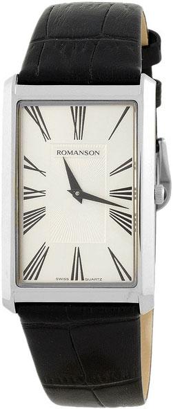 Мужские часы Romanson TL0390MW(WH) romanson tl 9225 mw wh