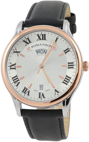 Мужские часы Romanson TL0393MJ(WH) romanson tm 9248 mj wh