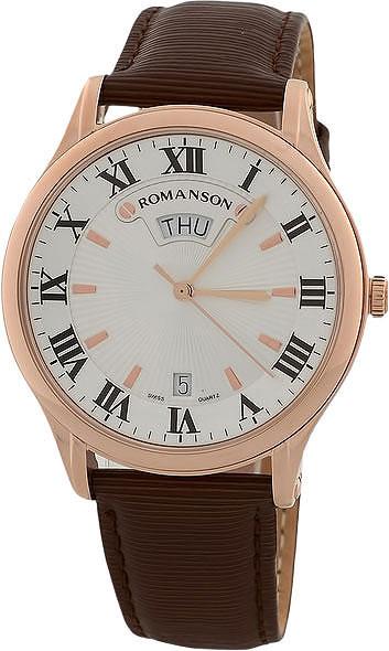Мужские часы Romanson TL0393MR(WH) romanson tl 9225 mr wh