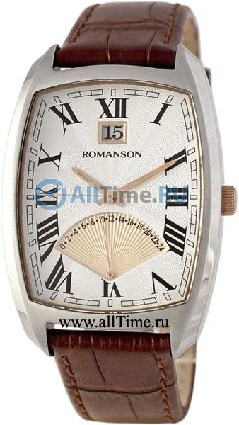 Мужские часы Romanson TL0394MJ(WH) romanson tl 9214 mj wh