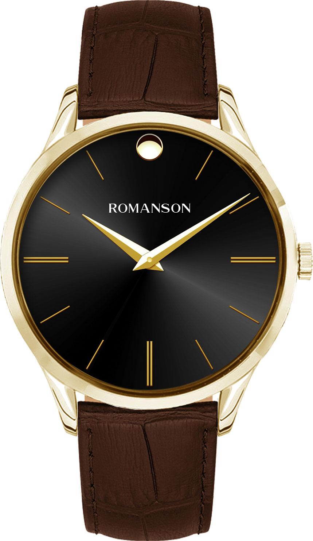 Мужские часы Romanson TL0B06MMG(BK)