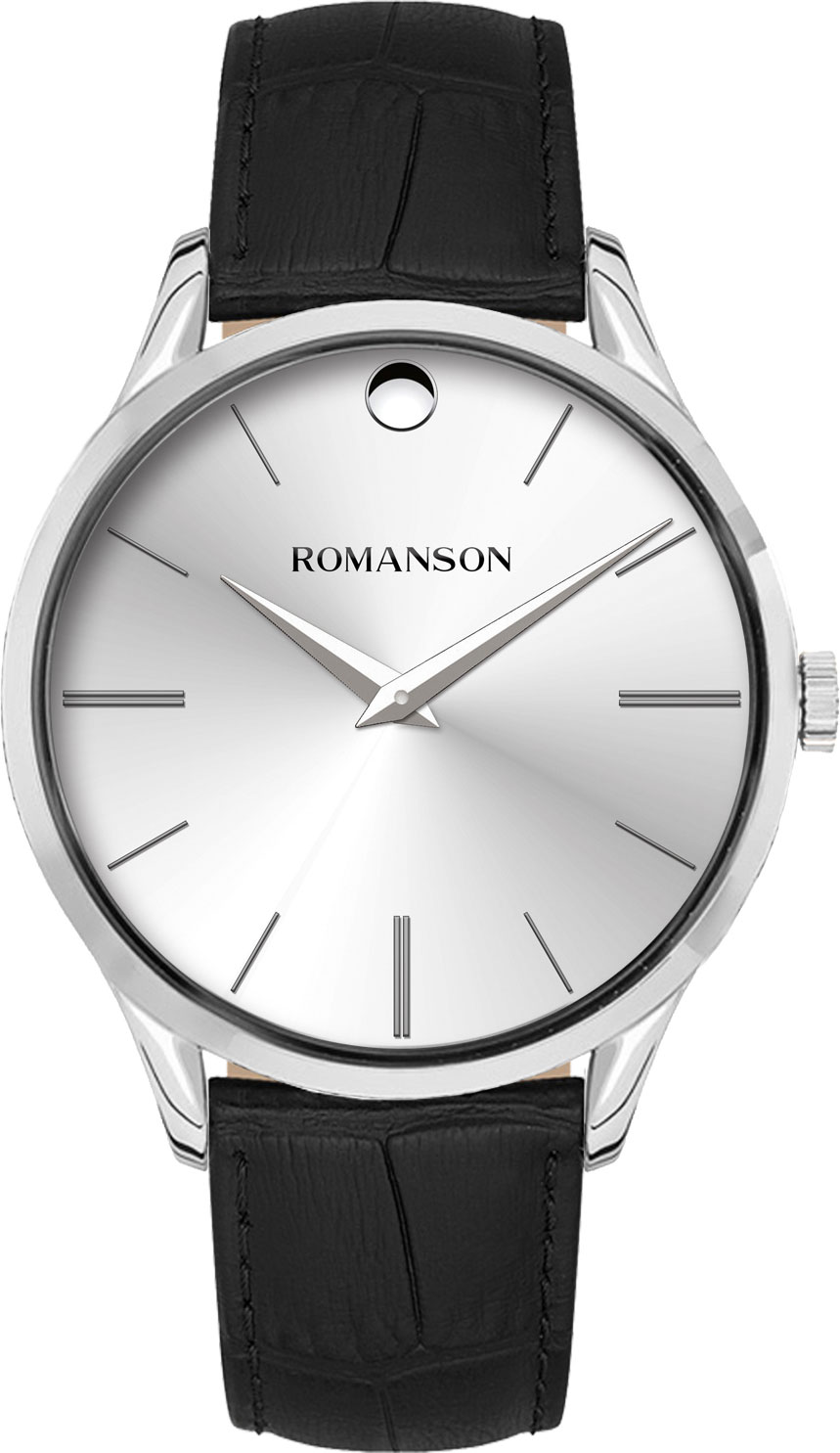 Мужские часы Romanson TL0B06MMW(WH)