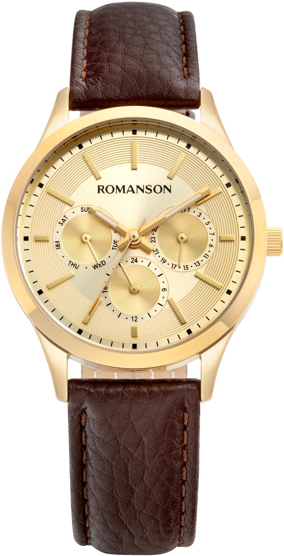 Женские часы Romanson TL0B10FLG(GD) женские часы romanson rm9a23llg gd