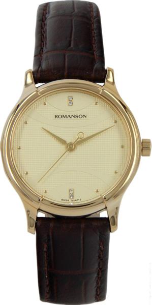 Женские часы Romanson TL1213SLG(GD) женские часы romanson rm8276lg gd