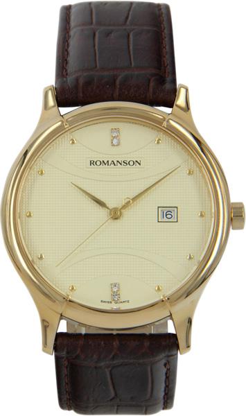 Мужские часы Romanson TL1213SMG(GD) romanson rm 9207q lj gd