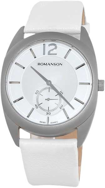 Мужские часы Romanson TL1246MW(WH)WH romanson tm 9248 mj wh