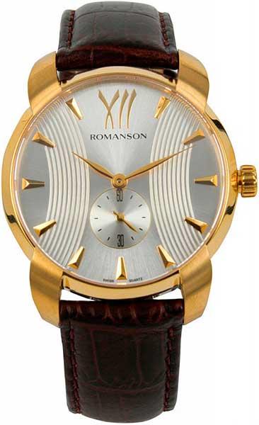 Мужские часы Romanson TL1250MG(WH)BN romanson tl1250mg wh bn romanson