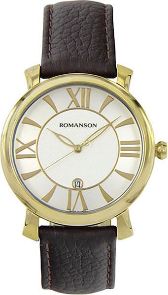 Мужские часы Romanson TL1256MG(WH)BN мужские часы romanson tl1256mg wh bn