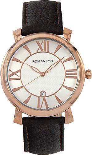 Мужские часы Romanson TL1256MR(WH)BN цена и фото