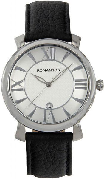 Мужские часы Romanson TL1256MW(WH)BK romanson tl 4201 mw wh bk