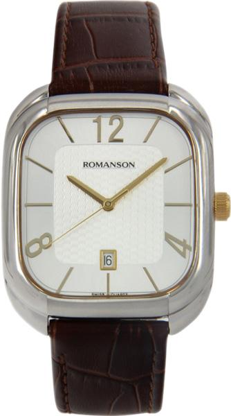Мужские часы Romanson TL1257MC(WH)
