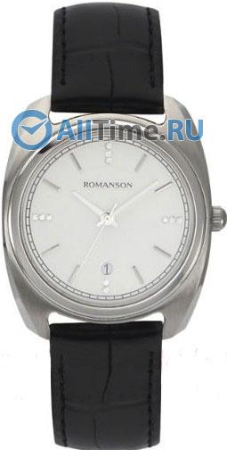 Женские часы Romanson TL1269LW(WH)BK romanson rm 6a31c lw wh