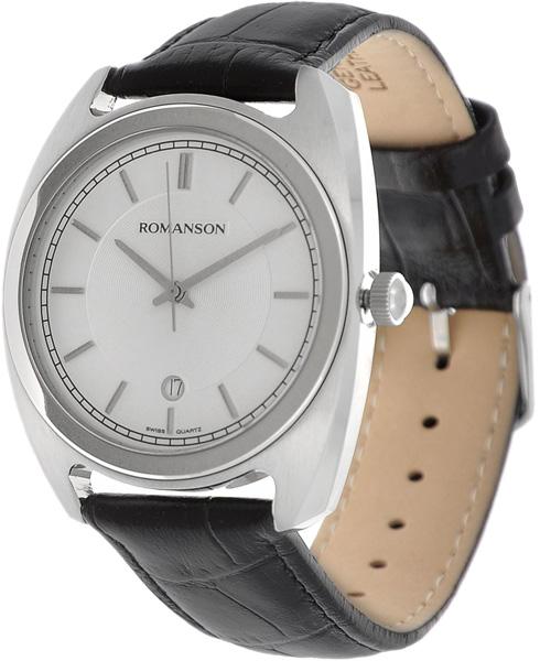 Мужские часы Romanson TL1269MW(WH)BK цена 2017