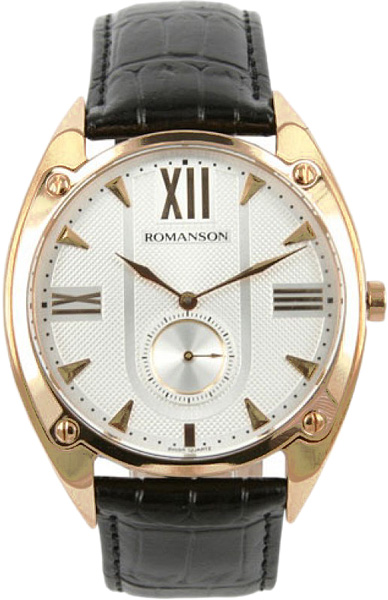лучшая цена Мужские часы Romanson TL1272JMG(WH)BK