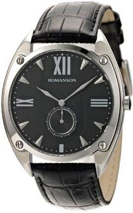 Мужские часы Romanson TL1272JMW(BK)BK