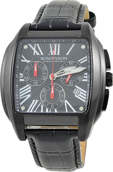 Мужские часы Romanson TL1273HMB(BK)-ucenka