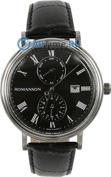 Мужские часы Romanson TL1276BMW(BK)BK