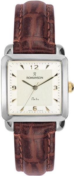 Женские часы Romanson TL1579DLC(WH) romanson tl 9225 mw wh