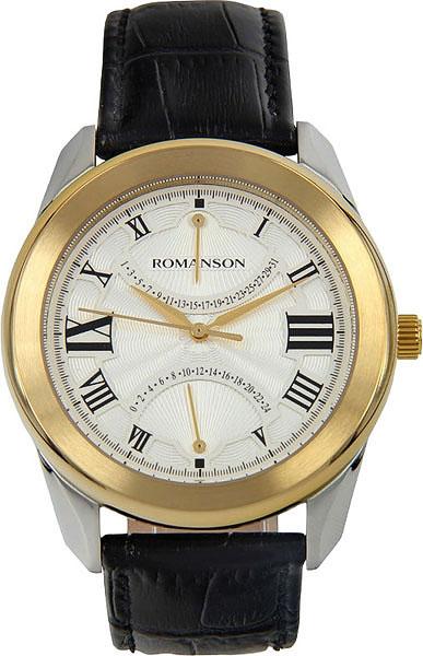 Мужские часы Romanson TL2615BMC(WH)