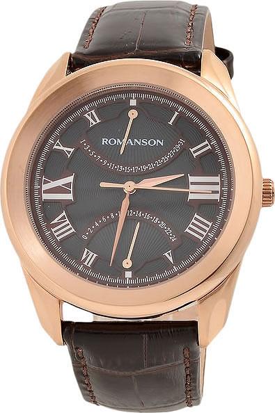 Мужские часы Romanson TL2615BMR(BK)BN romanson romanson tl 2654 mr bk d bn