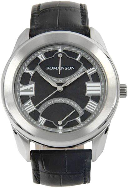 Мужские часы Romanson TL2615BMW(BK)BK-ucenka romanson tm 2615 mr bk