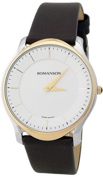 Мужские часы Romanson TL2617MC(WH)BN