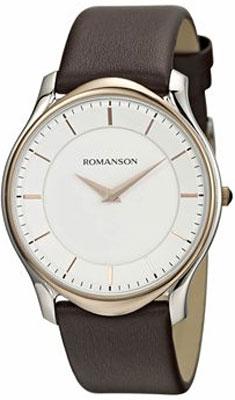 цена Мужские часы Romanson TL2617MJ(WH)BN онлайн в 2017 году