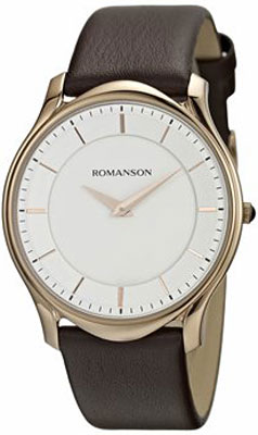 цена Мужские часы Romanson TL2617MR(WH)BN онлайн в 2017 году