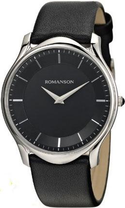 Мужские часы Romanson TL2617MW(BK)BK наручные часы romanson tl2617mw bk bk