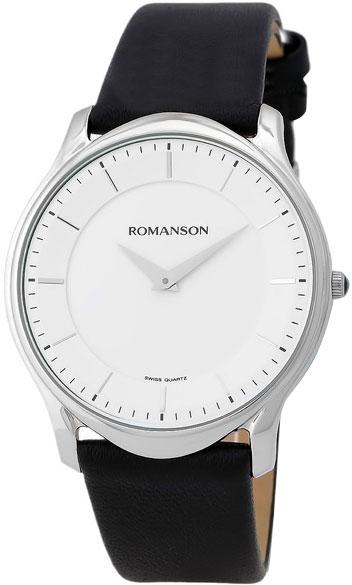 Мужские часы Romanson TL2617MW(WH)BK romanson rl 2623q lw wh bk page 2 page 1 page 2