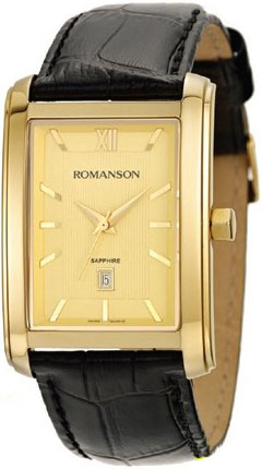 Мужские часы Romanson TL2625MG(GD) romanson rm 9207q lj gd
