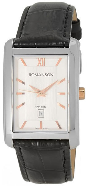 Мужские часы Romanson TL2625MJ(WH) romanson tl 2625 mj wh