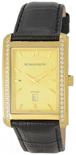 Мужские часы Romanson TL2625QMG(GD) romanson rm 9207q lj gd