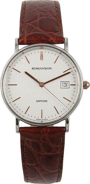 Мужские часы Romanson TL2626MJ(WH) romanson tm 9248 mj wh