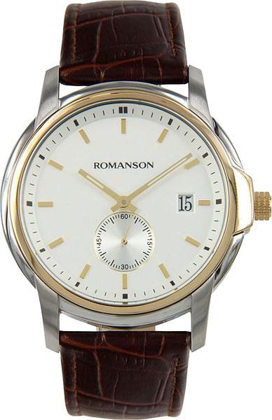 Мужские часы Romanson TL2631JMC(WH)BN мужские часы romanson tl1256mg wh bn