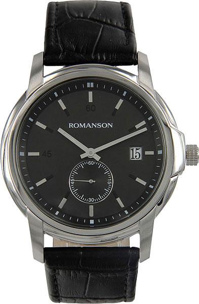 Мужские часы Romanson TL2631JMW(BK)BK romanson tl 2631 mg wh bk