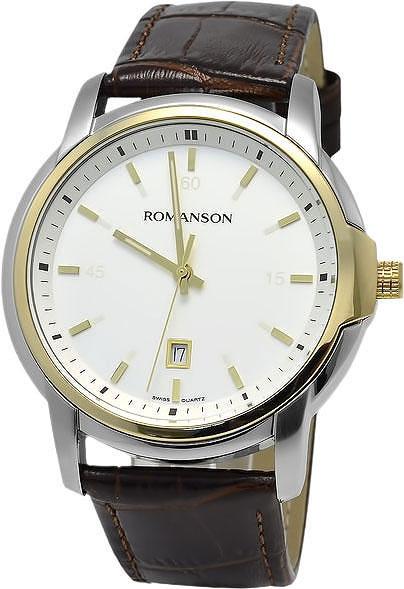 Мужские часы Romanson TL2631MC(WH)BN мужские часы romanson tl1256mr wh bn