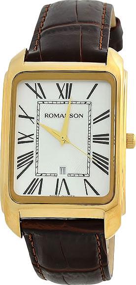 Мужские часы Romanson TL2632MG(WH)BN
