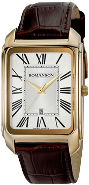 Мужские часы Romanson TL2632MR(WH)BN цена и фото