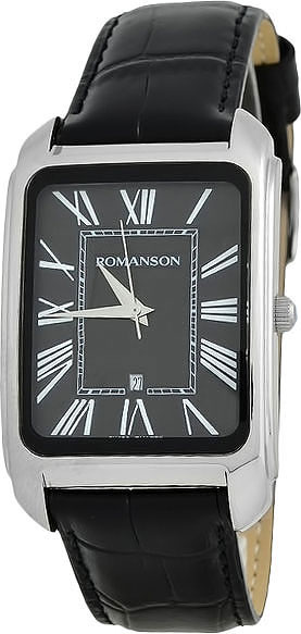 Мужские часы Romanson TL2632MW(BK)BK