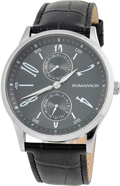 Мужские часы Romanson TL2648BMW(BK)BK мужские часы romanson tl3250fmw bk bk