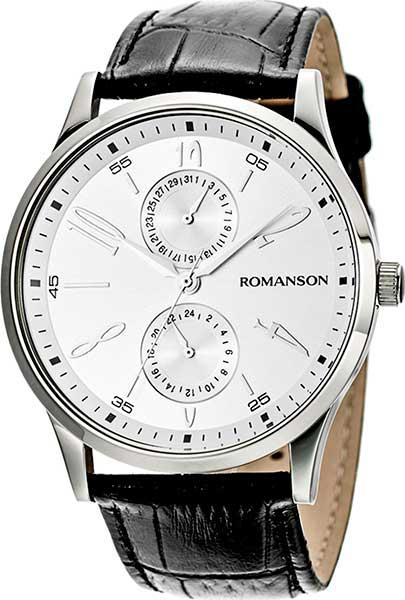 Мужские часы Romanson TL2648BMW(WH) цена и фото