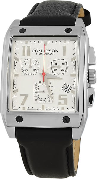 Мужские часы Romanson TL3217HMD(WH)BK интерком система superlux hmd 660x
