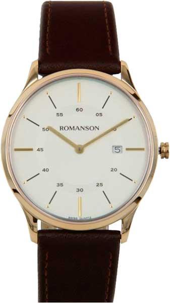 цены Мужские часы Romanson TL3218MG(WH)BN