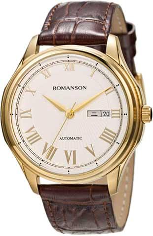 Мужские часы Romanson TL3222RMG(WH)BN мужские часы romanson tl1256mg wh bn