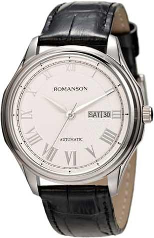 Мужские часы Romanson TL3222RMW(WH)BK цена и фото