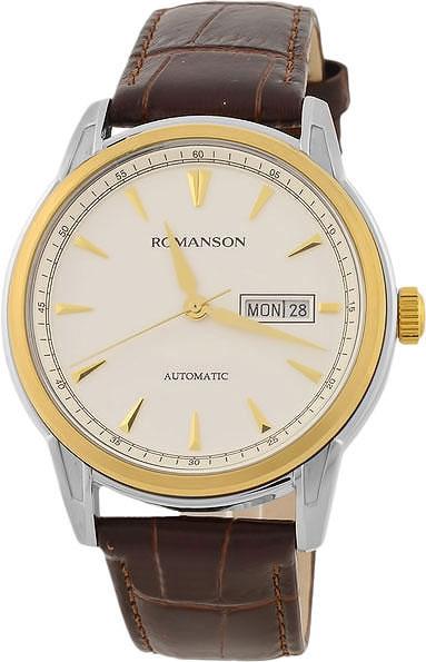 Мужские часы Romanson TL3223RMC(WH)BN romanson tl 3250f mc wh bn