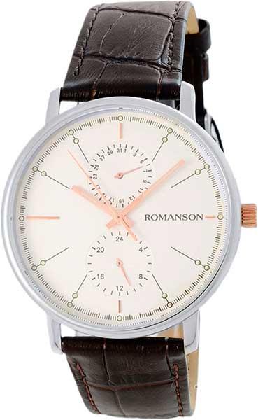 лучшая цена Мужские часы Romanson TL3236FMJ(WH)BN